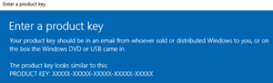 Product key activation Windows Server 2019 – 0x80070490 error/Problème d'activation clé produit Windows Server 2019 – erreur 0x80070490